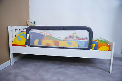 Safety 1st Portable Bed Rail Dark Grey Children Baby Secure Locking Gate Protect