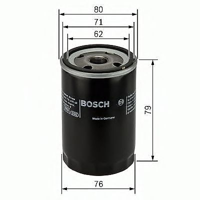 AUSTIN MAXI Oil Filter 1.5 1.7 75 to 80 Bosch Genuine Top Quality Replacement