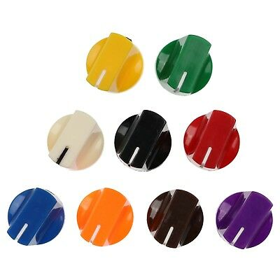 10 Colours Duckbill Knobs for Keyed Potentiometer / Rotary Switch / Encoder 1/4""