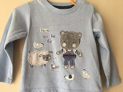 Cute Baby Boy's Top by Tu - Age 6-9 Months