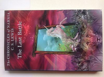 The Last Battle, the Chronicles of Narnia - C.S.Lewis Novel - Collins Book