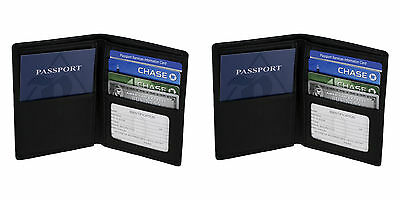 Two Royce RFID Blocking Passport Currency Wallets