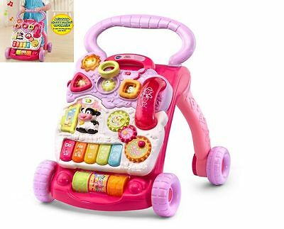 Baby Walker Girls Learning Toy Music Activity Toddler Vtech Walk Assistant Steps