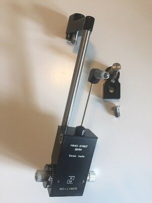 Haag Streit Goldmann Tonometer R900 c/w Mount and Prism. Calibrated And Cleaned