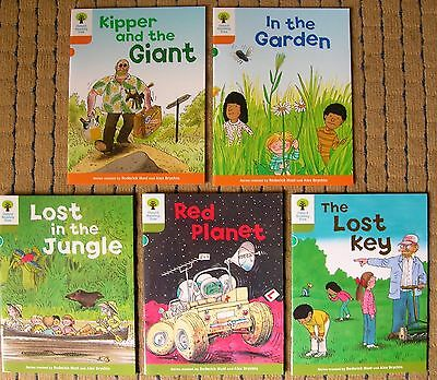 OXFORD READING TREE X 6 Brand New Books( STAGE 6/7 ) 1ST CLASS POST