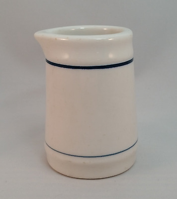 Shenango White with Blue Band Creamer Restaurant Ware
