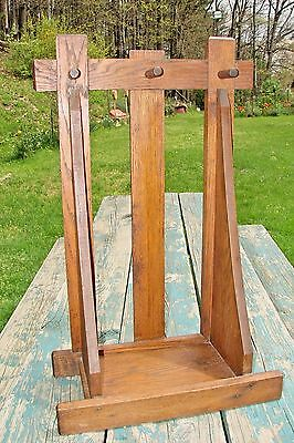 Antique Vintage Rare Mission Oak Stickley Limbert Era Fishing Pole Rack
