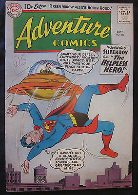 ADVENTURE COMICS #264 1959 DC 5.0 VG/FN SUPERBOY Silver Age GREEN ARROW Aquaman