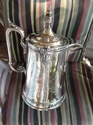 Victorian SIlverplated Water Pitcher