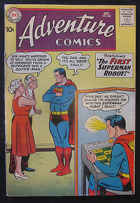 ADVENTURE COMICS #265 1959 DC 5.0 VG/FN Silver Age SUPERBOY GREEN ARROW AQUAMAN