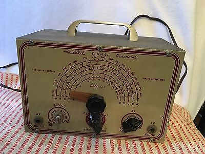 Vintage Signal Generator Model G-1 1950'S-60's Powers On