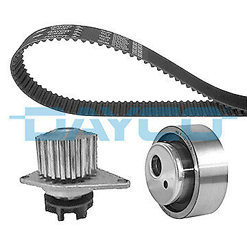 PEUGEOT 206 1.4 Timing Belt & Water Pump Kit 1998 on Set Dayco Quality New