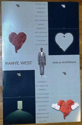 "Kanye West ""808 & Heartbreaks"" Poster (11x17), RARE, COLLECTABLE, BUY TODAY!!"