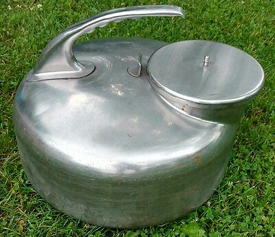 Babson Bros CO Chicago The Surge Milker Can w/lid Stainless Vintage