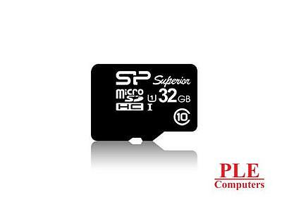 Silicon Power 32GB Superior UHS-1 MicroSD Card[SP032GBSTHDU1V10SP]