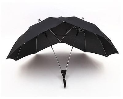 3 Colors Modern Two-People Novelty Couple Umbrella/Dualbrella
