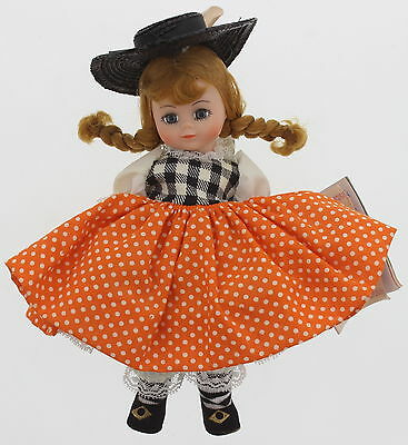 "1989 MADAME ALEXANDER ""The Little Jumping Loan"" Multi-Color 8"" Doll"