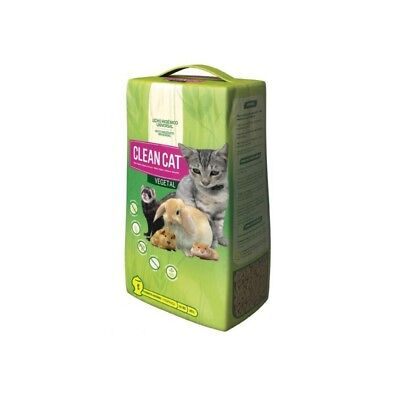 Lecho higienico Clean Cat Vegetal