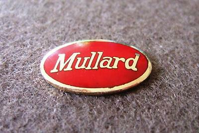 Vintage Valve Radio Badge - Suit Mullard Meteor - Model 600
