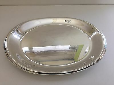 "Wilcox IS International Silver Co, 5509/16 Oval Serving Platter, 16"" x 11 1/2"""