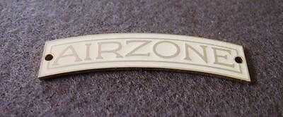 Vintage Valve Radio Badge - Suit Airzone Symphony - Cream