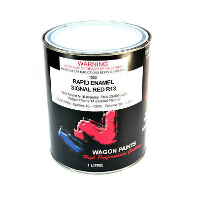 Red Gloss Paint – 4ltr Can