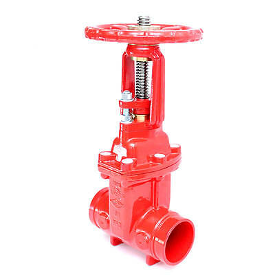 300 Roll Groove OS&Y Gate Valve