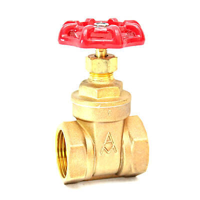 15 Untested Brass Gate Valve