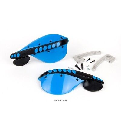 Black and blu universal handguards Kyoto motocross