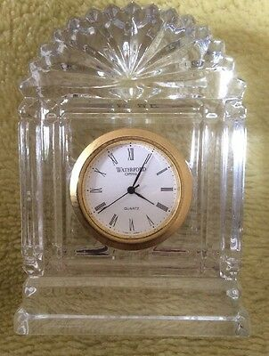 Waterford Crystal Clock Nocturne