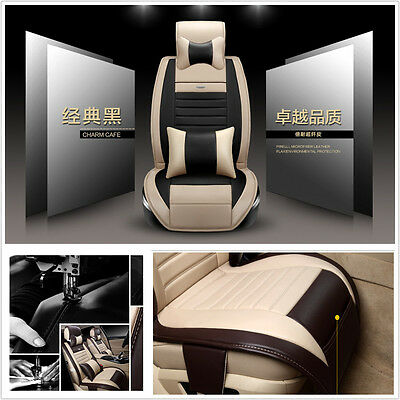 5-Seats Auto Front+Rear Cushion Size M W/Pillow Car Seat Cover Summer Most Car