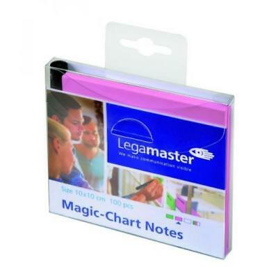 Legamaster Magic-Chart Notes selbsthaftende Notizzettel 10x10cm  (8713797081290)
