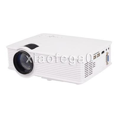 Mini Portable HD LED Projector 1080P Home Cinema Theater VGA USB AV HDMI SD AU