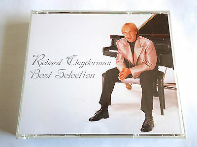 RICHARD CLAYDERMAN Best Selection JAPAN 2CD 2001 Mail Order Only L/E RARE