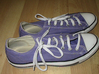 Converse All Star Sneakers Shoes Purple Men's Size 8, Women's Size 10