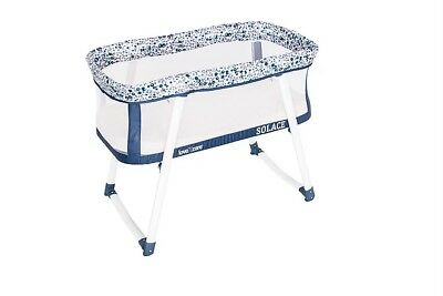 Love N Care Solace Cradle Compact Portable Travel Baby Bassinet Blueberry