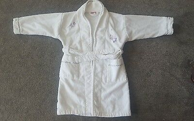 john lewis dressing gown. aged 3-4 years. vgc