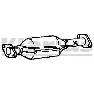 Diesel Particulate Filter DPF Centre 399003 Klarius Soot Top Quality Replacement