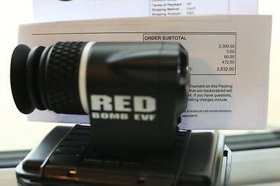 RED BOMB LCOS viewfinder