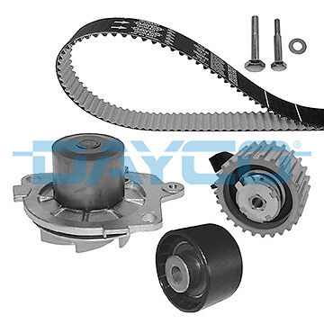 Timing Belt & Water Pump Kit KTBWP4580 Dayco Set 71771584 Quality Replacement