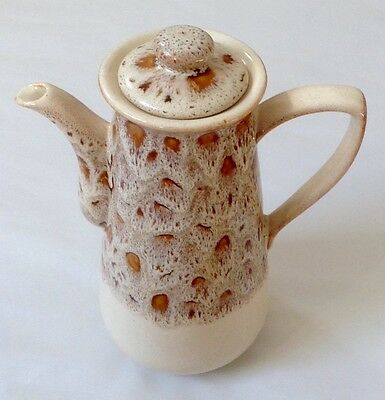 Fosters Pottery (Redruth, Cornwall) Honeycomb Coffee Pot