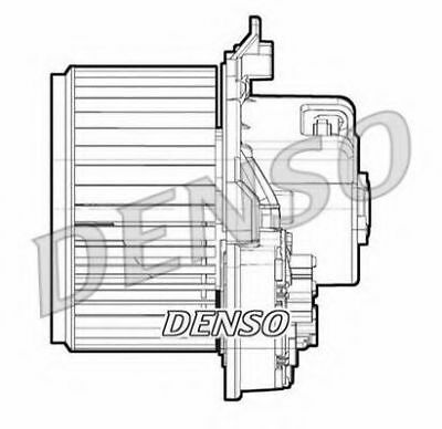 Interior Blower Heater DEA09072 Denso New