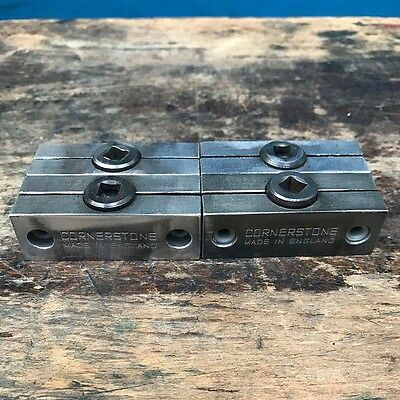 Letterpress Quoins by Cornerstone made in England. Set of four.