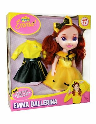 NEW Wiggles 15-Inch Emma Doll In Ballerina Outfit