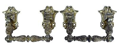 French Antique Bronze Ormolu Louis XVI Style Pair of Piano Handles