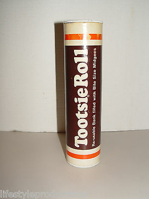 """Vintage Collectible Tootsie Roll Bank 9"""""""