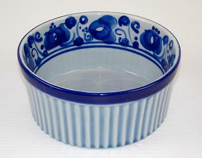 """Israel Lapid Hand Painted Tall Serving Bowl 7 3/4"""""""