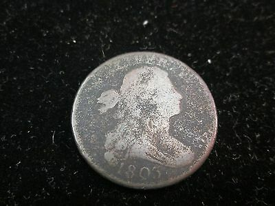 1803 Draped Bust Large Cent Fair Condition