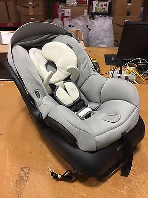 Maxi-Cosi Mico 30 Infant Baby Car Seat with Base in Grey Gravel Color