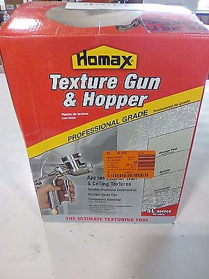 Homax Pro Gun and Hopper for Spray Texture Repair 4967920 C